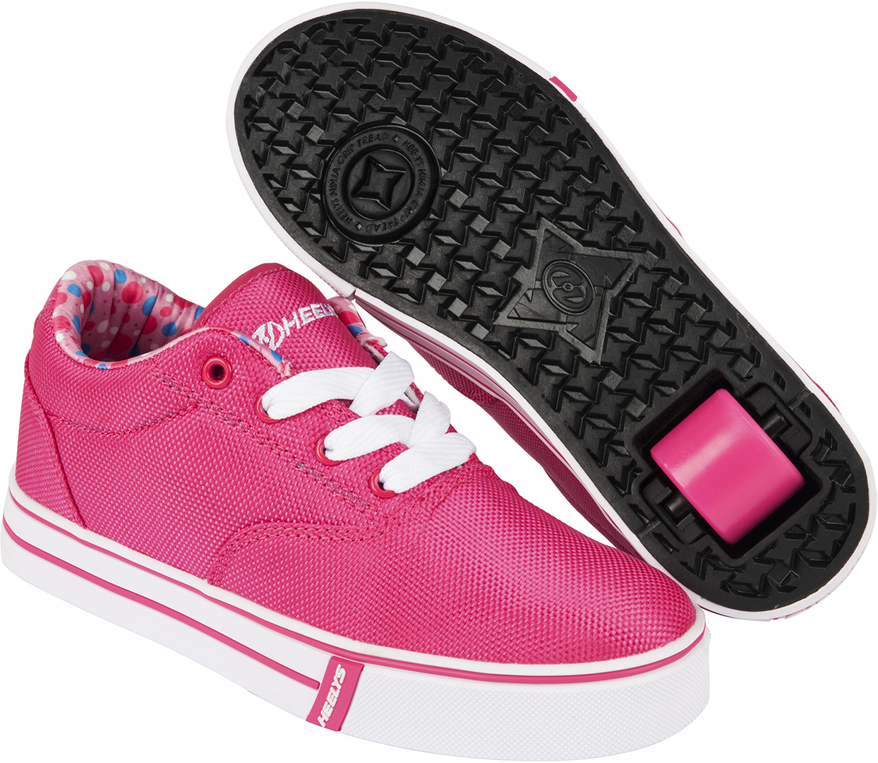 heelys launch 2 0 schuh 2016 fuchsia printed lining schuhe. Black Bedroom Furniture Sets. Home Design Ideas
