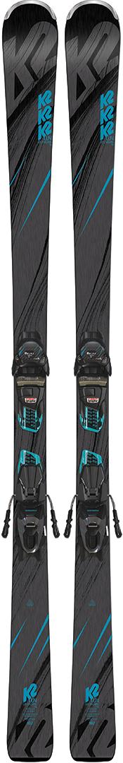 FDT TP 10 Ski Black//White V/ölkl RTM 7.4 Red Ski 2019 INKL