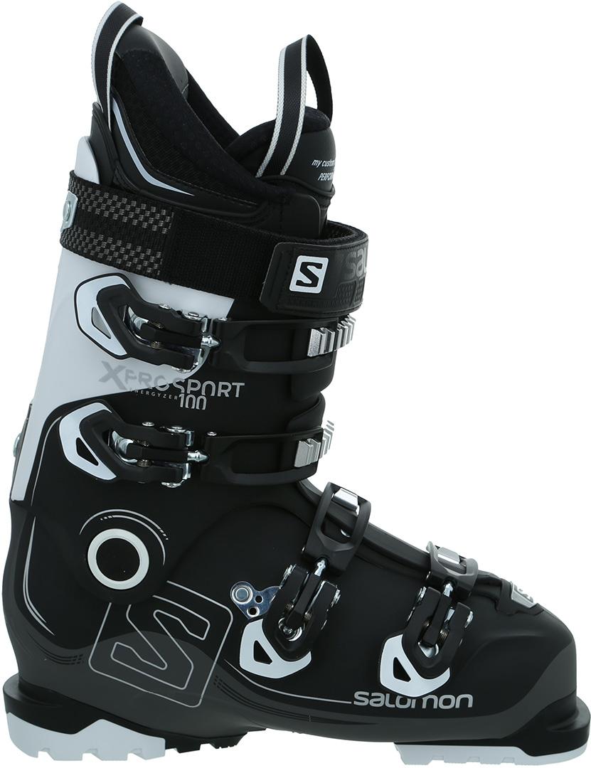 X ACCESS R80 WIDE Ski Schuh 2019 anthraciteblackyellow