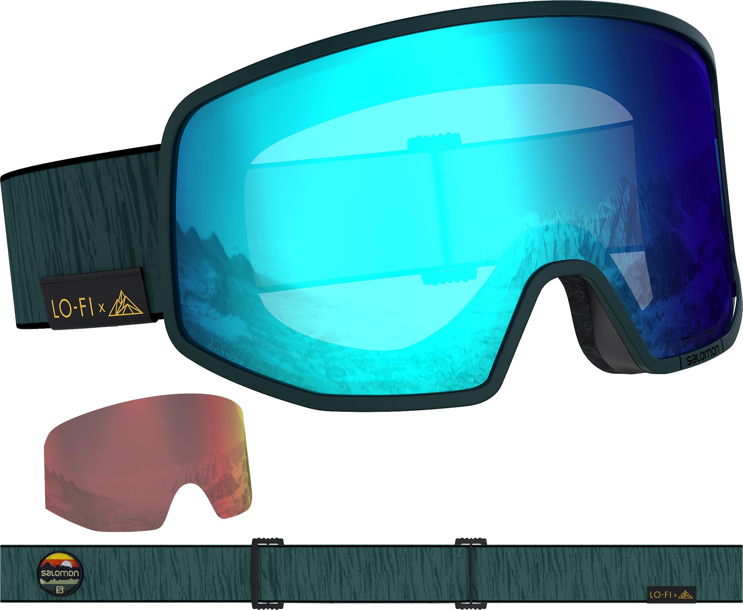 Snowboard Glasses Goggle Salomon Lo Fi Snow Goggles 2020
