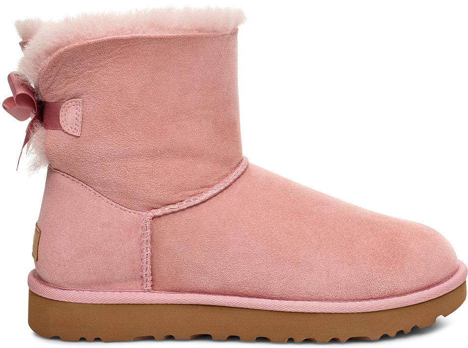 Ugg Mini Bailey Bow Ii Boot 2020 Pink Crystal Warehouse One