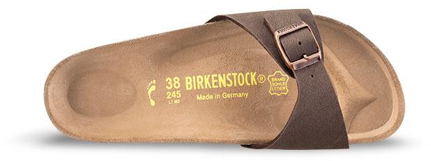 Birkenstock MADRID SLIM Sandal 2019 mocca | Warehouse One