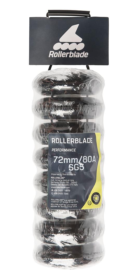 Inlineskate Rollen Kuggellager Wheel Bearings ROLLERBLADE 72//80A Rollen 8er Pack