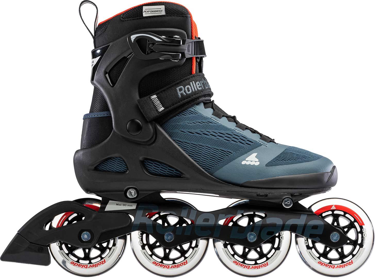 Inliner Inlineskates Fitness Skate ROLLERBLADE SPARK 84 Inline Skate blue//lime