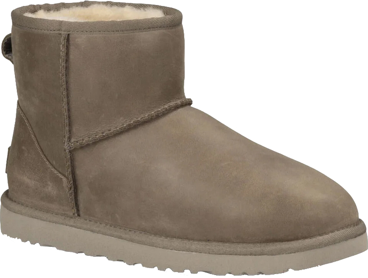 Ugg Classic Mini Leather Boot 2020 Feather Warehouse One