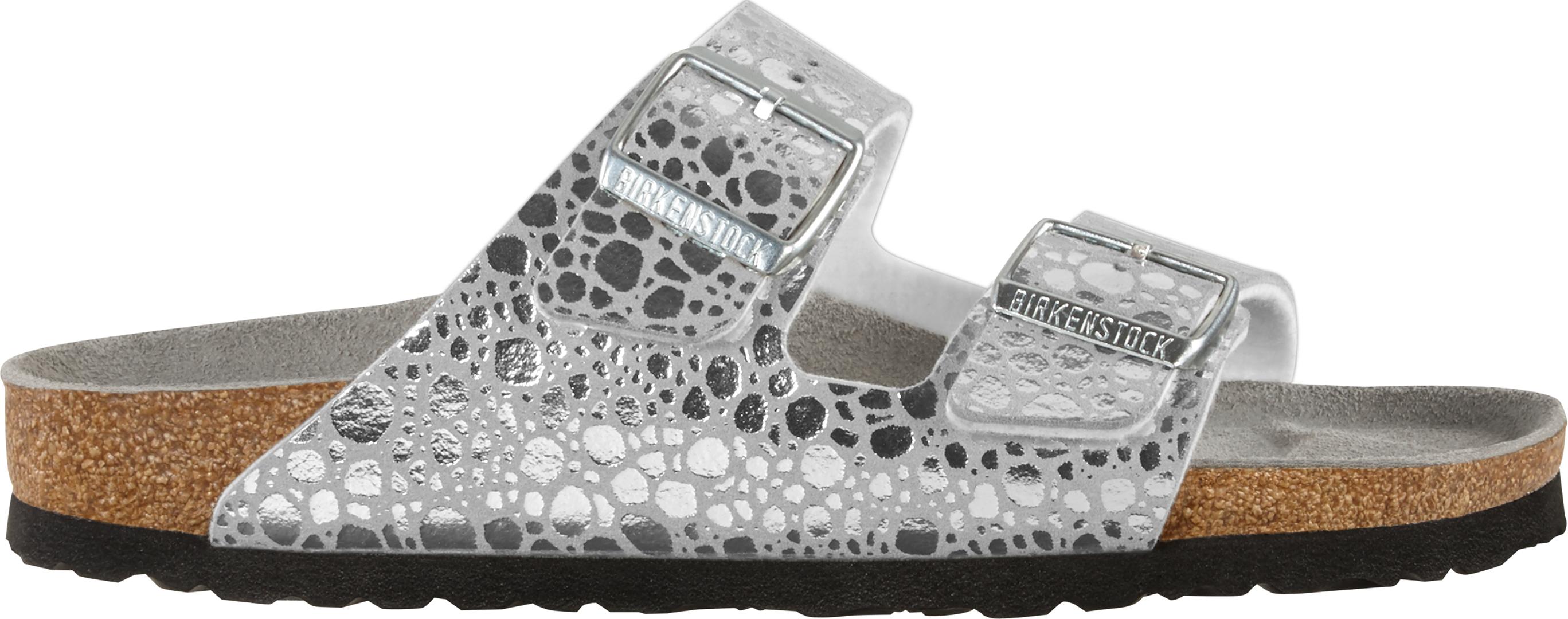 f69221c0780 ARIZONA SLIM Sandal 2019 metallic stones silver grey