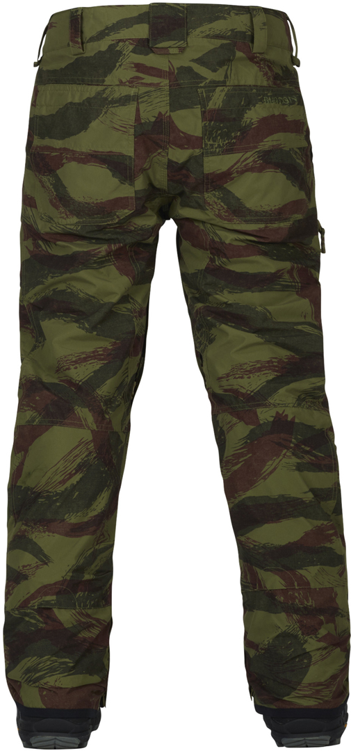 Burton Southside Slim Pant 2018 Brush Camo Rifle Green