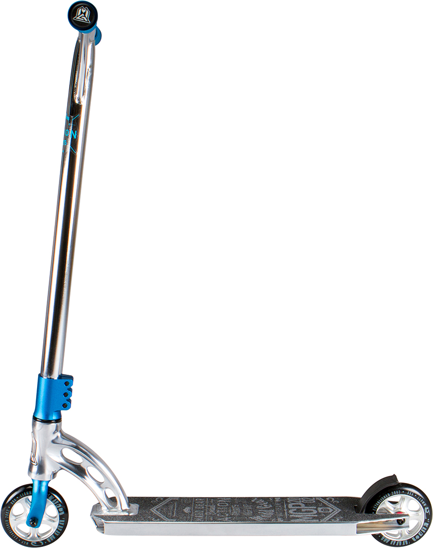 madd scooter stuntscooter mgp vx7 quipe blue chrome. Black Bedroom Furniture Sets. Home Design Ideas