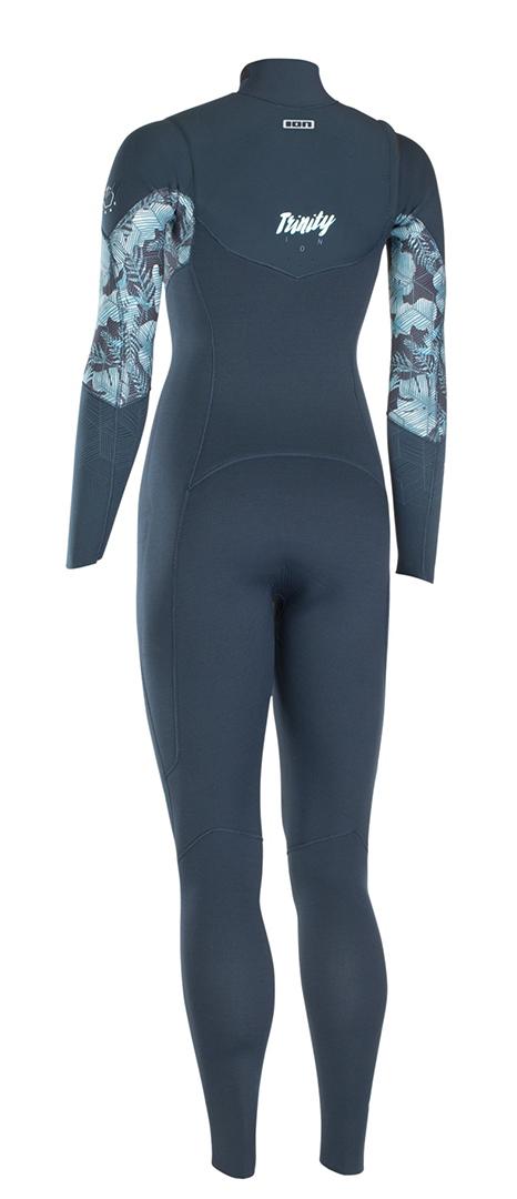 TRINITY CORE SEMIDRY 4/3 FRONT ZIP Full Suit 2019 dark blue
