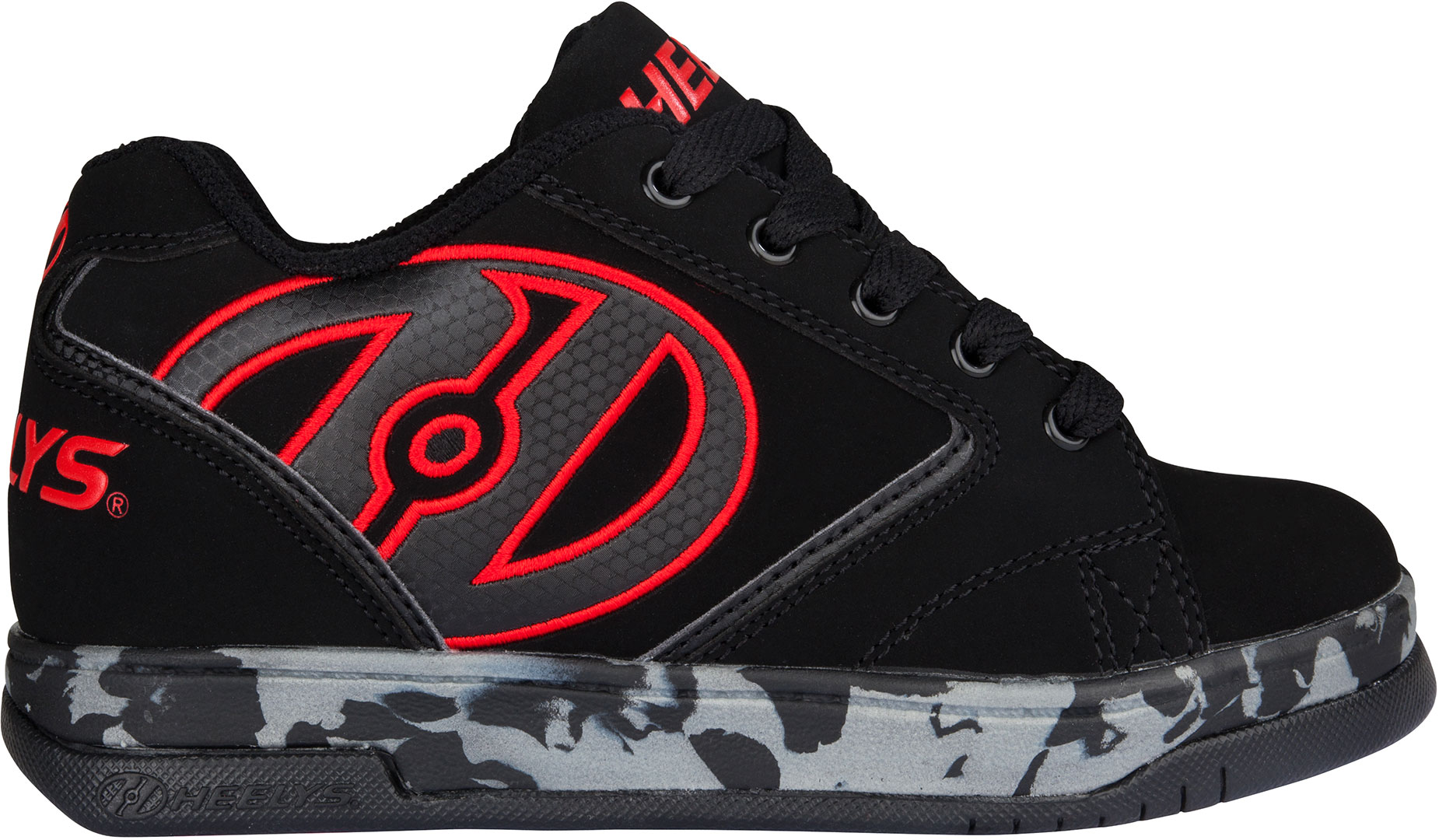 heelys propel 2 0 schuh 2017 black red confetti schuhe mit. Black Bedroom Furniture Sets. Home Design Ideas