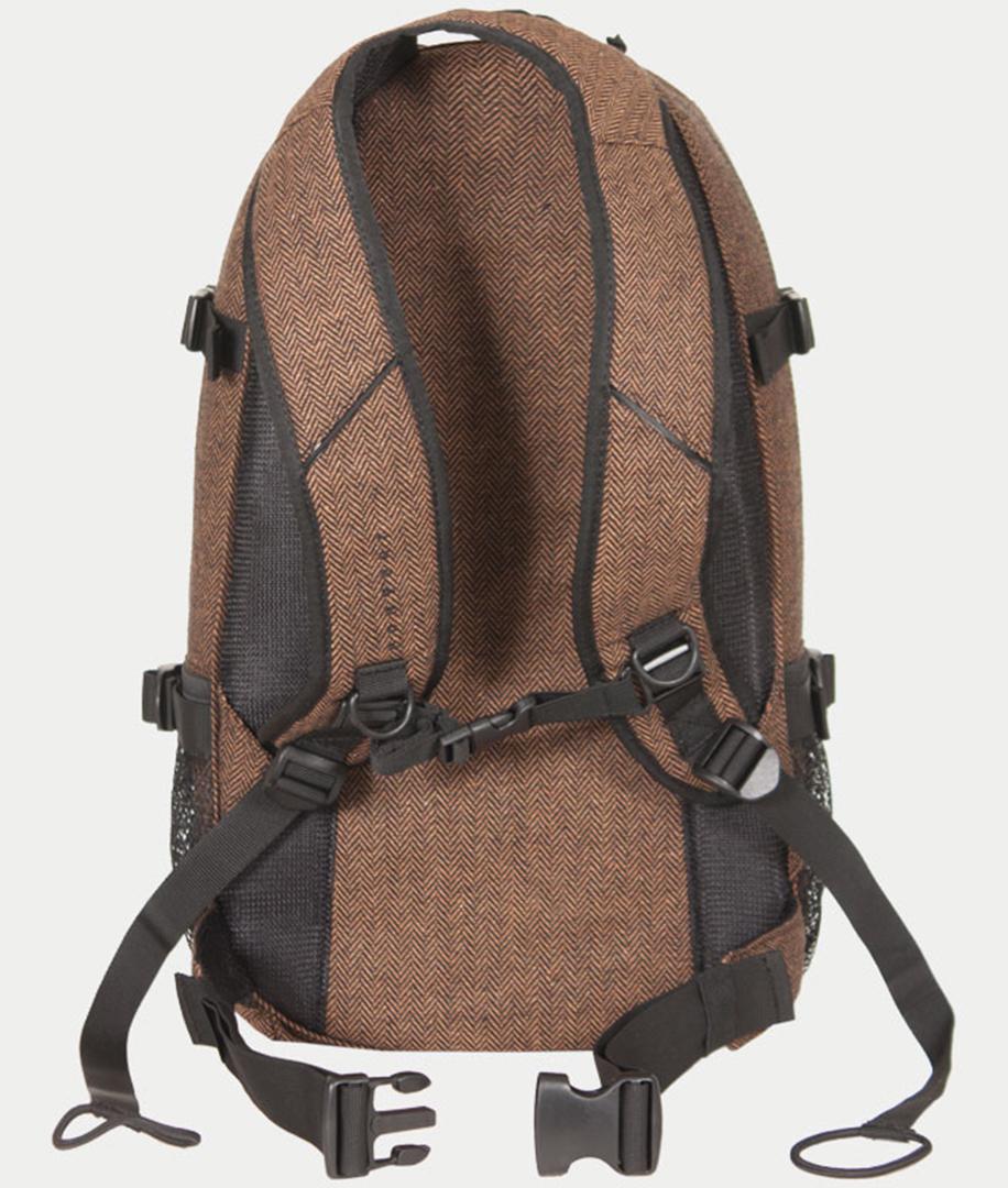 new louis backpack 2017 flannel lightbrown warehouse one. Black Bedroom Furniture Sets. Home Design Ideas