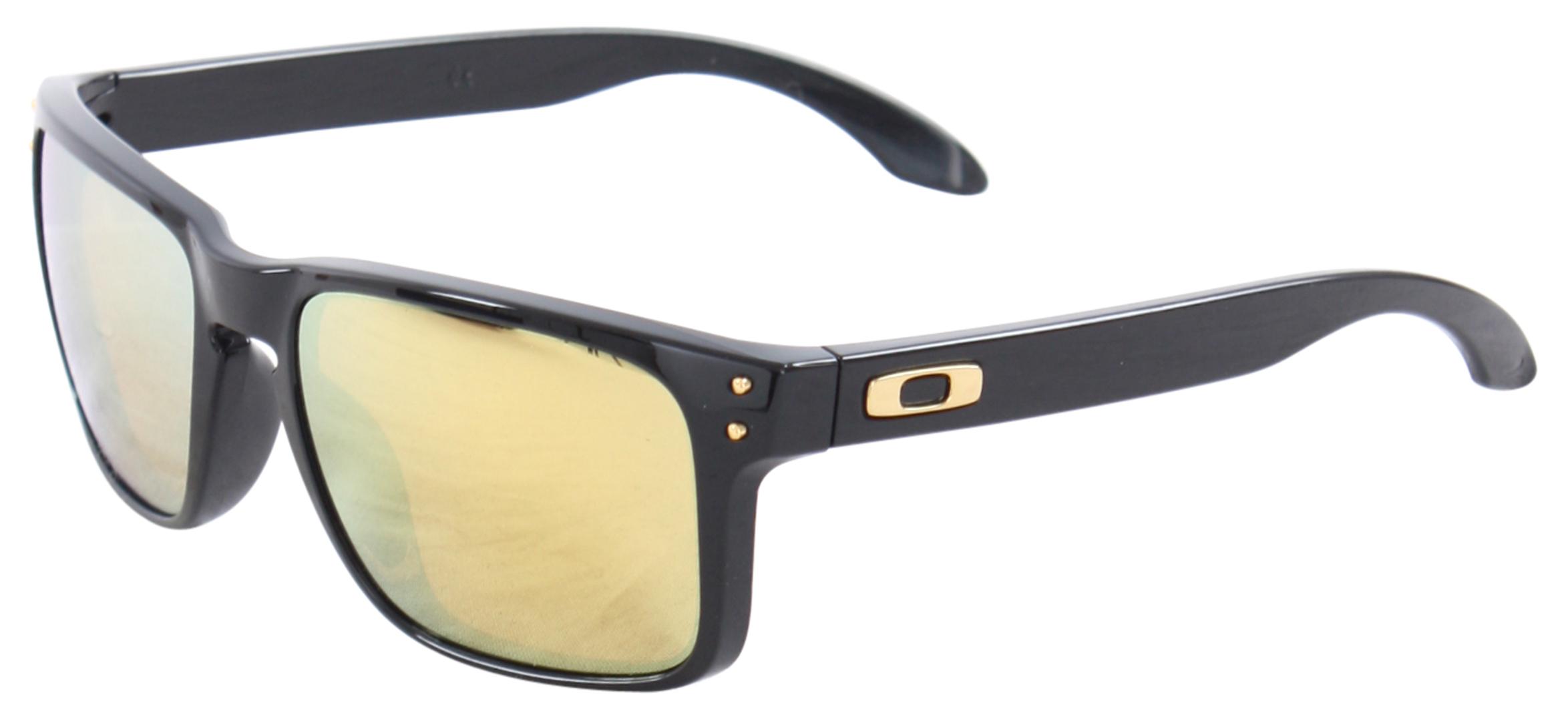 2ee5c06af1 Oakley Holbrook Polarized Sunglasses - Polished Black 24k Iridium ...