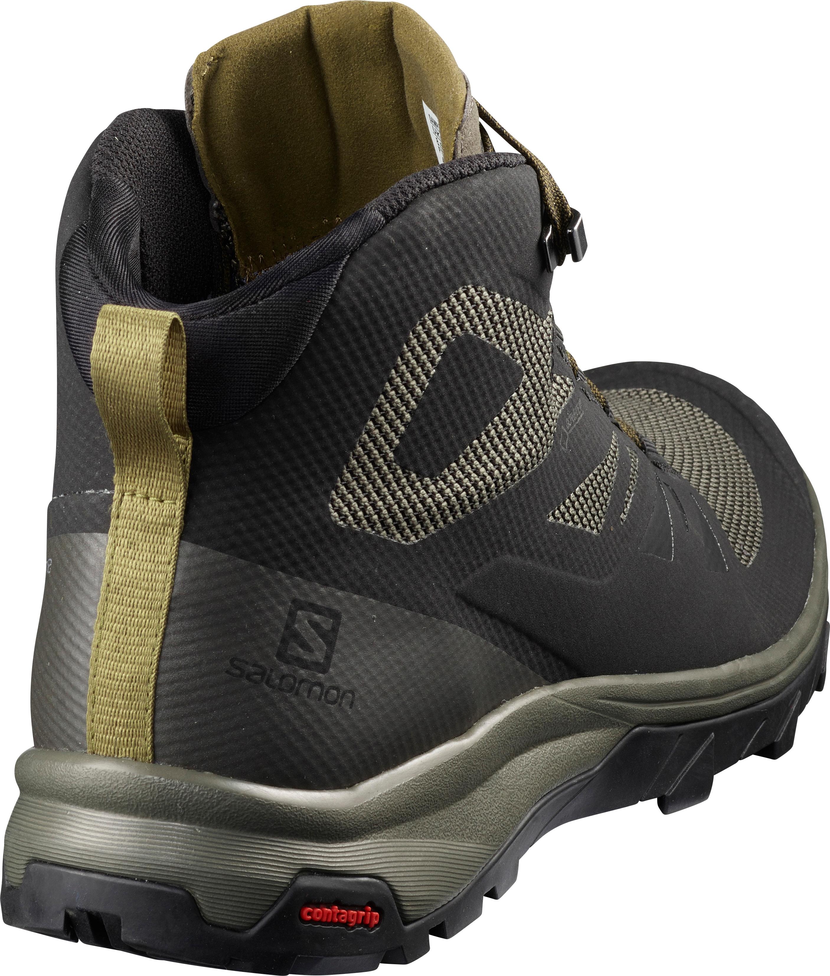 Salomon OUTLINE MID GTX Shoe 2020 blackbelugacapers