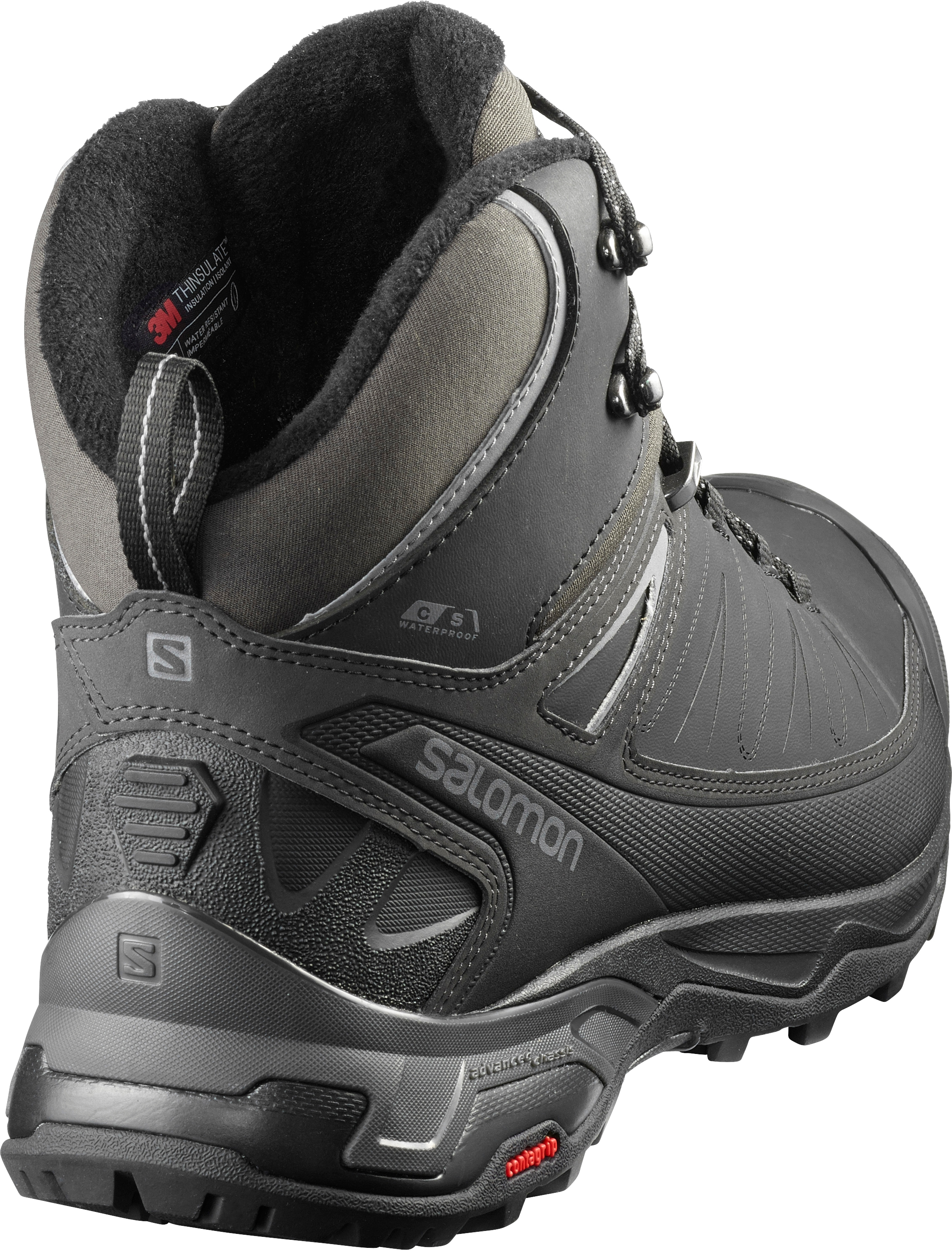 Salomon X ULTRA MID WINTER CS WP Shoe 2020 blackphantom
