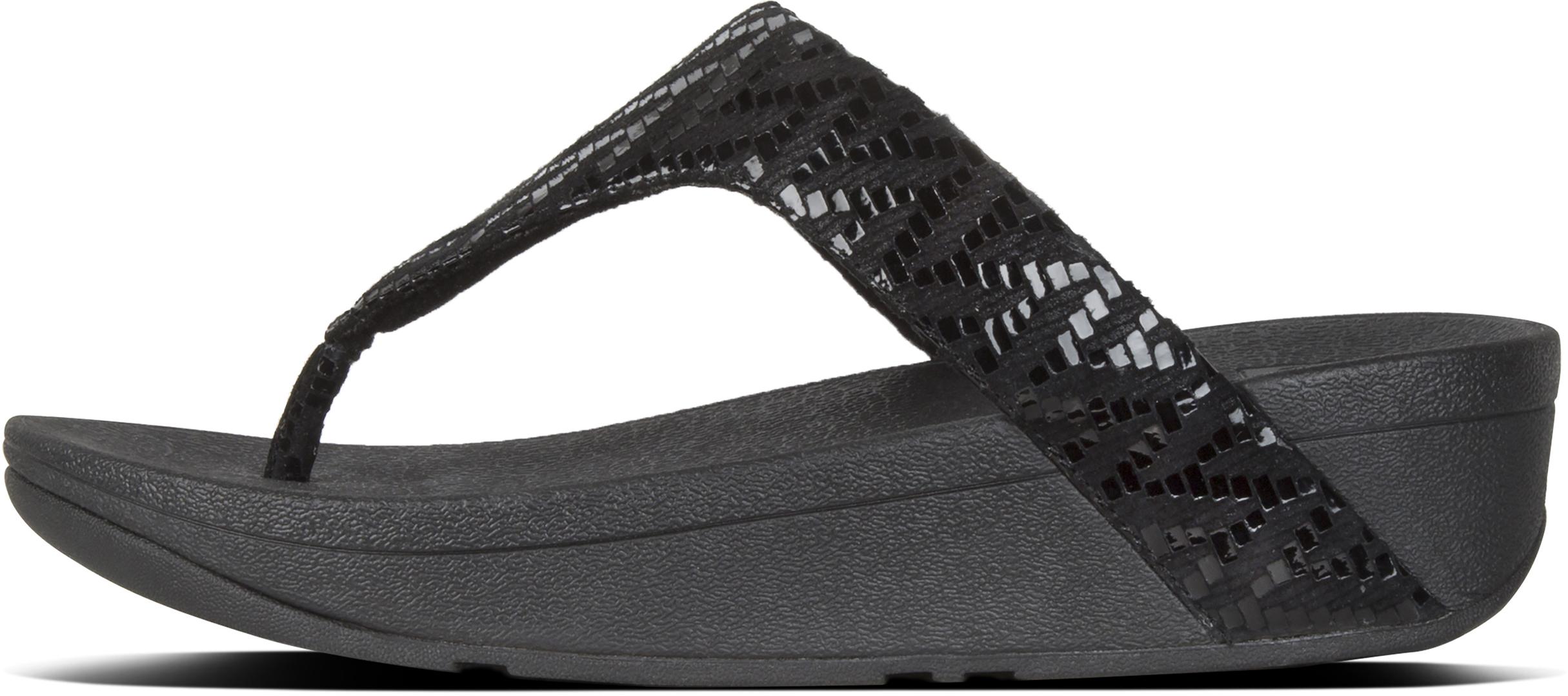 9274daa4fa8f Fitflop LOTTIE CHEVRON Sandale 2019 black