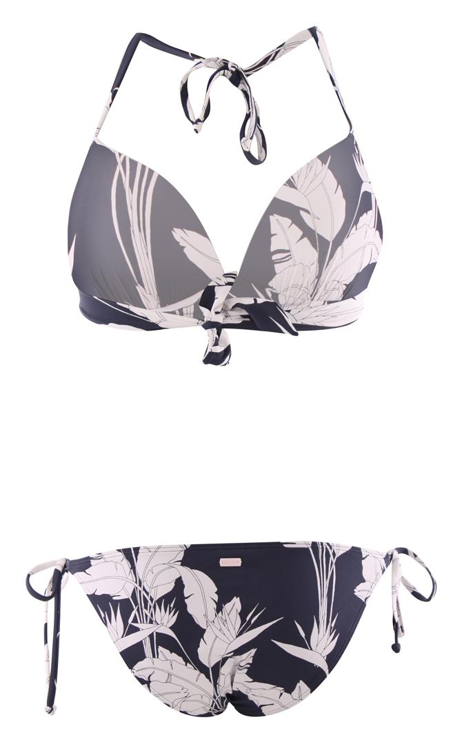 ROXY Bikini Bademode BEACH CLASSICS TANK Bikini 2020 mood indigo flying flowers