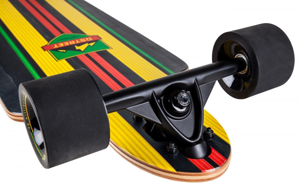 d street stinger drop through longboard 2016 rasta original komplett set ebay. Black Bedroom Furniture Sets. Home Design Ideas