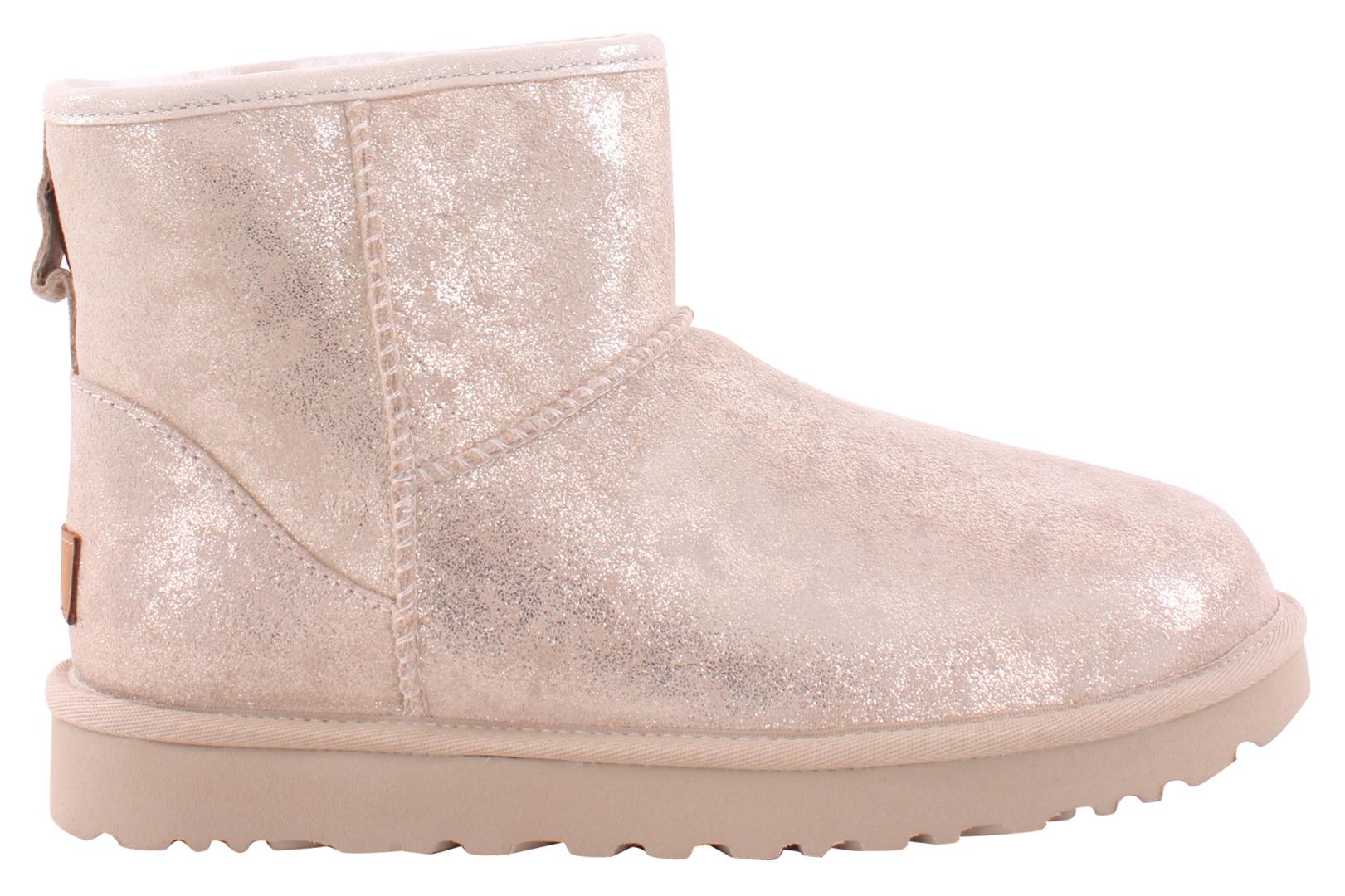 f2684547eaa CLASSIC MINI II STARDUST Boots 2019 metallic gold