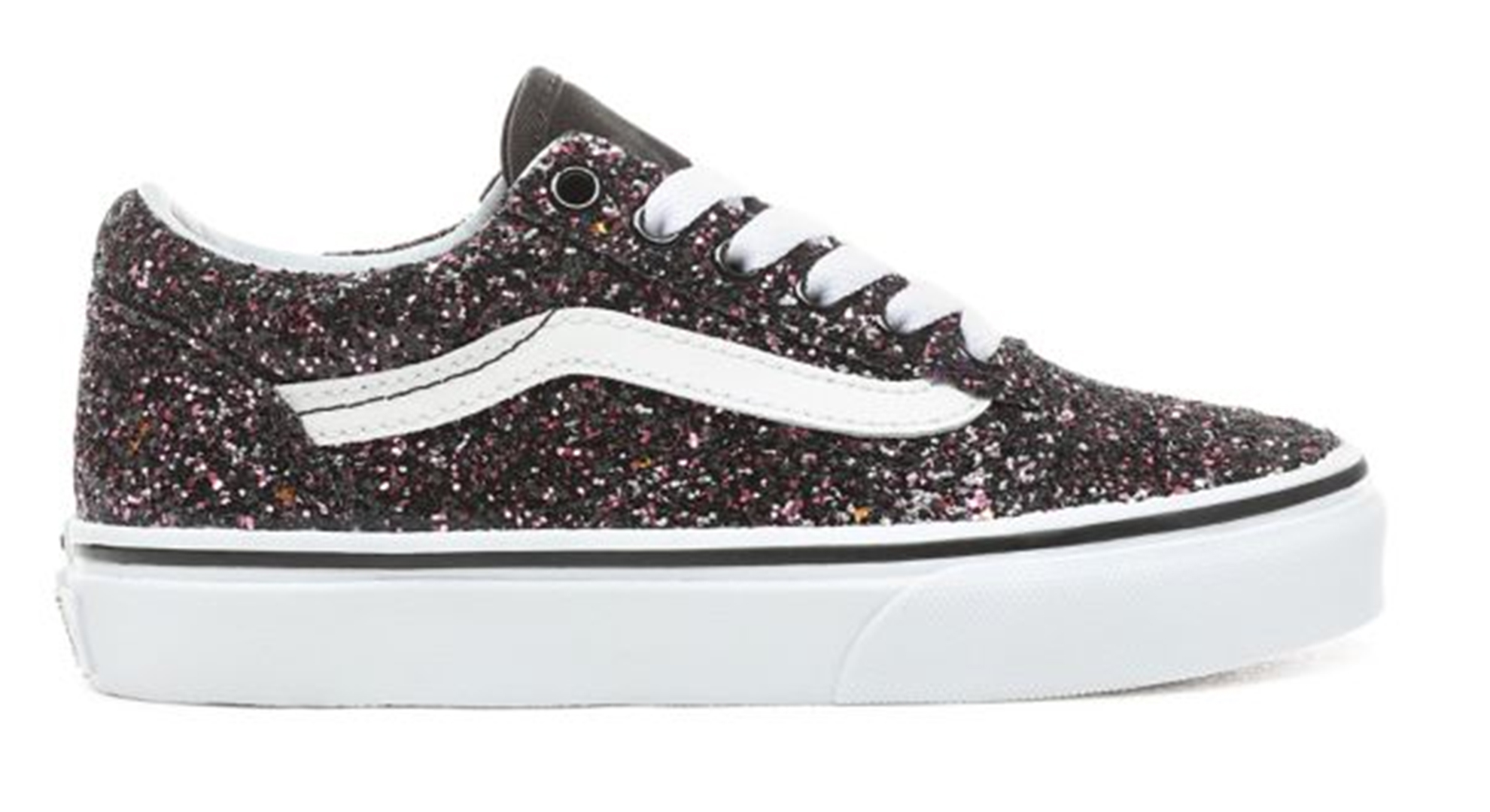 2019 Stars Schuh Glitter White Kids Old Skool Blacktrue qSVGUzMLp