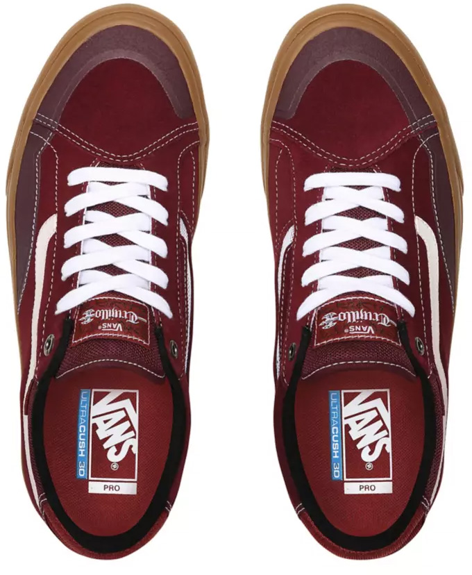 Vans TNT ADVANCED PROTOTYPE Shoe 2020 port royalerosewood
