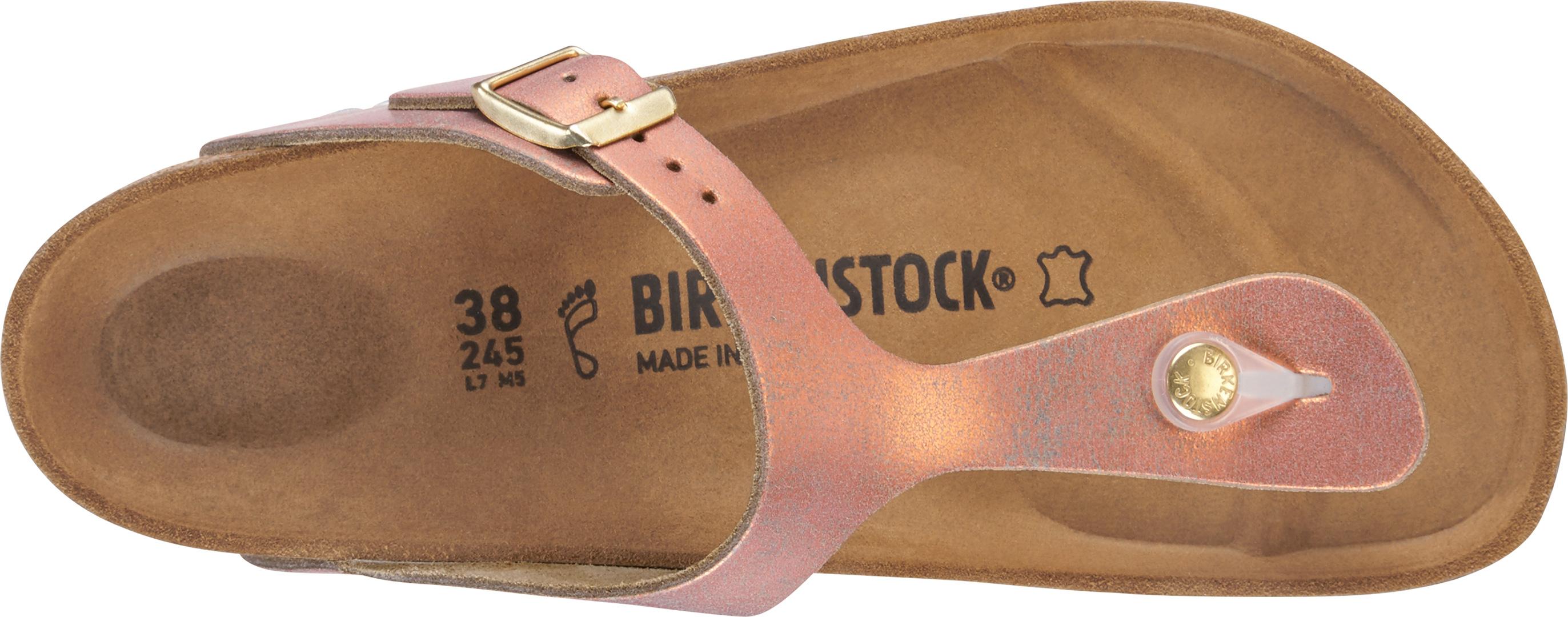 separation shoes e6910 9bfc5 GIZEH Sandal 2019 washed metallic sea copper