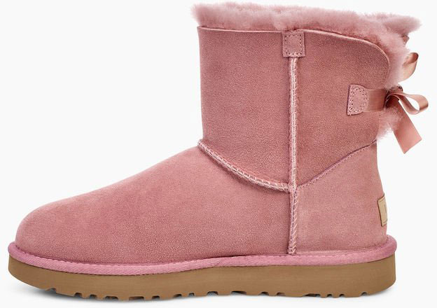 Ugg MINI BAILEY BOW II Boot 2019 pink dawn   Warehouse One 09d8d902a7