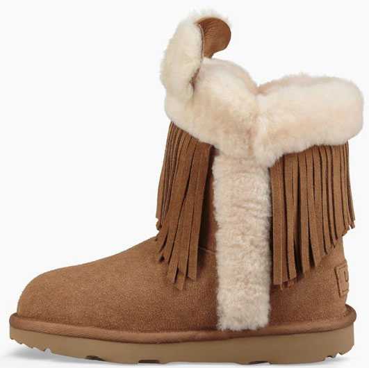 Schaffell Boots CLASSIC SHORT IIKIDS