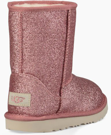 442dd65acbc CLASSIC SHORT II GLITTER KIDS Boots 2019 pink