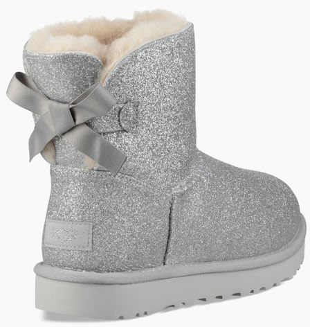 08ed763f504 MINI BAILEY BOW SPARKLE Boots 2019 silver