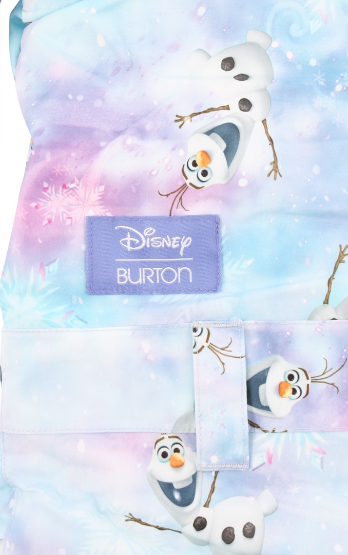 GIRLS MINISHRED ILLUSION Overall 2016 olaf frozen print ...