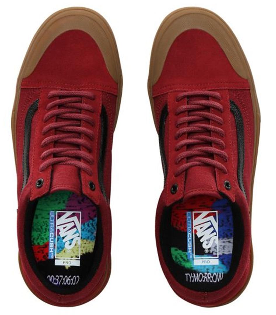 Details zu VANS Sneaker Schuhe TY MORROW OLD SKOOL PRO BMX Schuh 2020 biking redgum Schuhe