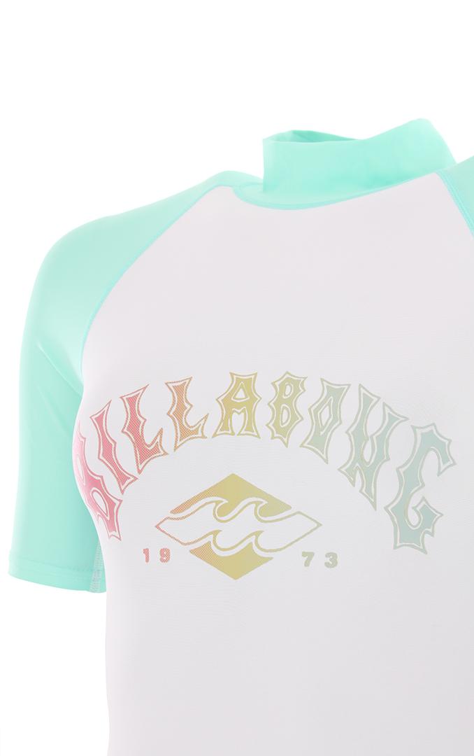 Wassersport Shirt Lycra QUIKSILVER ALL TIME SS Lycra 2020 blithe T-shirt