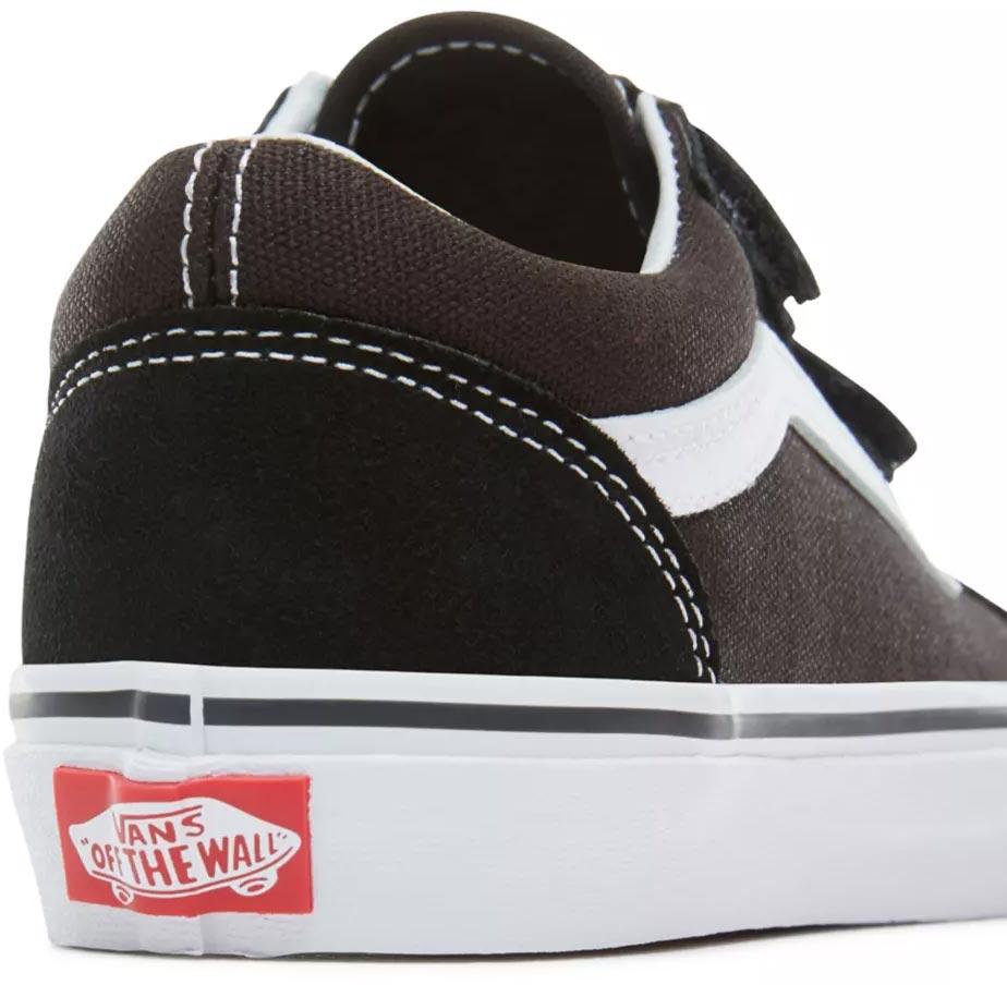 Vans OLD SKOOL V KIDS Schuh 2020 blacktrue white