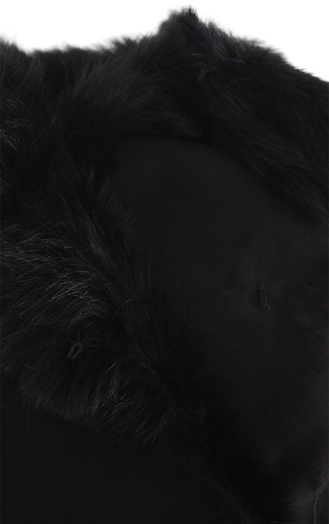 Black Shearling Vanesa Toscana 2020 Coat dBoxWrCe